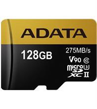 ADATA Premier ONE V90 UHS-II U3 Class 10 275MBps 128GB microSDXC